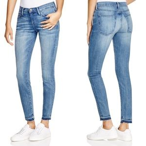 Current Elliott released hem stiletto jeans